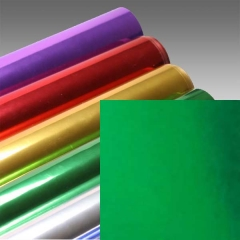 Foil Tech Folie, Grün Metallic, glänzend