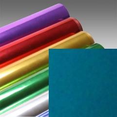 Foil Tech Folie, Blau Grün Metallic, glänzend
