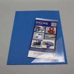 Dreiecktaschen 120 x 120 mm, selbstklebend, PP-Folie 120 µm, transparent