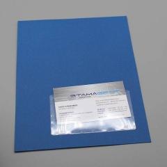 Visitenkartentaschen 105 x 60 mm, Breitseite offen