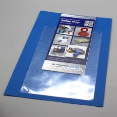 SK Rechtecktasche A4, 220x305/302mm, PP-Folie, 120my, Schmalseite offen