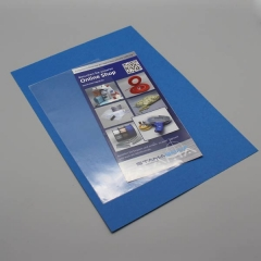 SK Rechtecktasche A6, 115x158/153mm, PP-Folie, 120my, Schmalseite offen