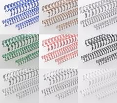 Drahtkammbindung, DIN A4, 2:1, 1/2, Ø 12,70 mm